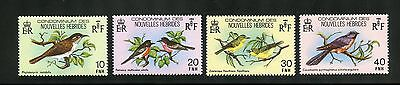 New Hebrides (French) Complete MNH Set #296-299 Birds Stampss
