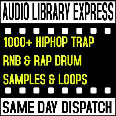 Hiphop, Trap, Rnb & Rap Drums Loops Hits Effects And Samples Wav Midi Audio