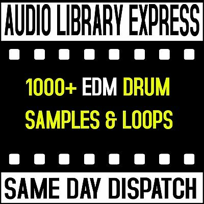Edm Drums Loops Hits Effects And Samples Wav Midi Studio Producers