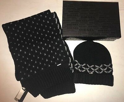 BNIB Diesel Magic Kit Scarf And Beanie Set. Gift Idea!