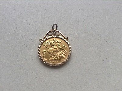 1913 George V Gold Half Sovereign