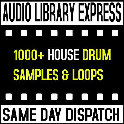 House Drums Loops Hits Effects And Samples Wav Midi Studio Producers