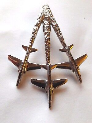 Red arrows  brooch tie pin signed
