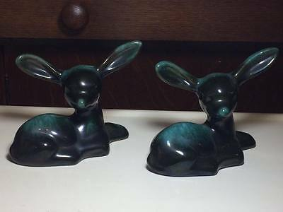 Vintage Blue Mountain Pottery Fawns
