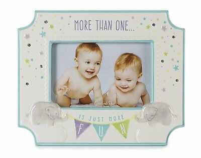 Grasslands Road Confetti Baby Girl Boy 4″ x 6″ Photo Frame More Than One 460190