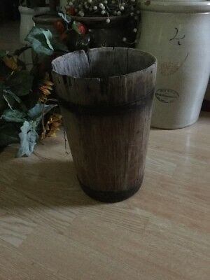 Antique Primitive Syrup Bucket ~ Great Prim Decor ~ BIN Price 🙂
