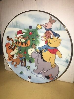 """The Star is The Best Part"" Plate No. 4473A 100 Acre Wood Holiday Limited Ed."