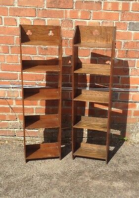 Arts and crafts bookcases
