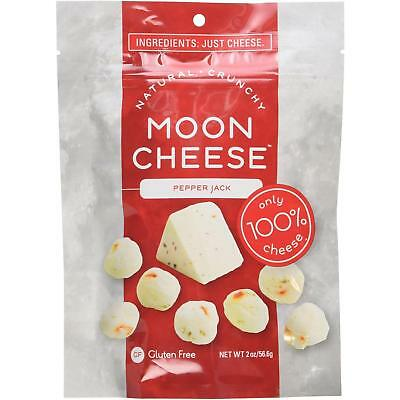 NEW Moon Cheese 6R5Jzt1 Crunchy Pepper Jack Snack Gluten-Free 100% Natural Food