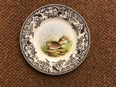 Spode WOODLAND Quail 10.5' Dinner Plate Made In England