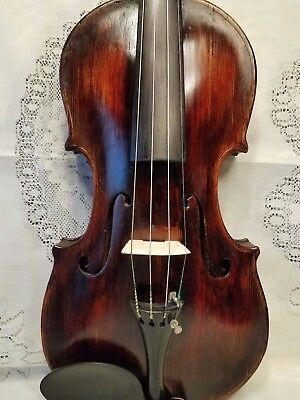 Very Old Antique Violin  ,4/4 Size Joh.bapt Schweitzer  Lable