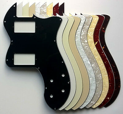 Telecaster Classic Player Thinline Deluxe Pickguard PAF Humbucker route: various