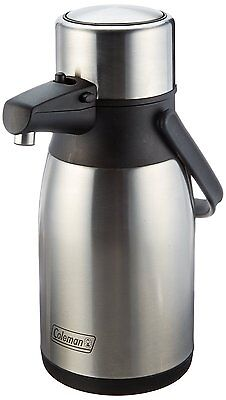 NEW  --  Coleman 2.5L Stainless Steel Airpot Double Wall Insulated Air Pot