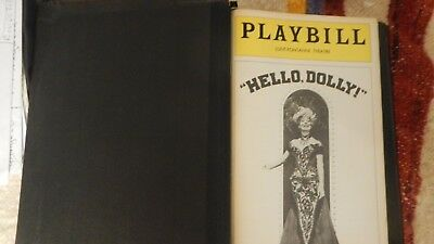 Lot  Playbills (1978-1980) in a binder (please see  the photos)