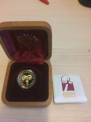 Iceland Gold 10000 Kronur 2000 - 1000 Years Of Christianity - Millenium