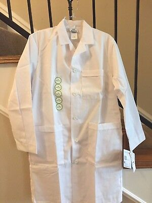 Men's White 4 Pocket Meta Nano Lab Coats Price 13.00 Sizes : XS, XL, & 2XL