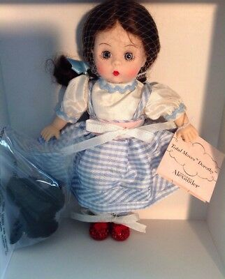 """Madame Alexander 8"""" Wizard Of Oz TOTAL MOVES DOROTHY LTD EDITION #38715"""