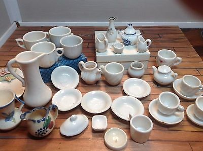 VINTAGE Mixed Lot of Tea Cups Plates Various Sizes minitures