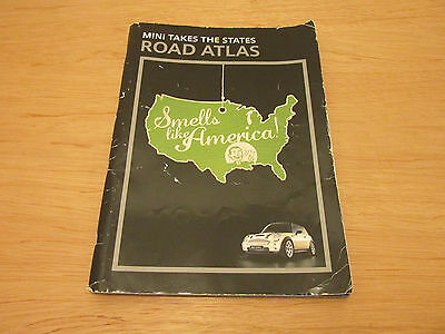 Mini Takes The States Mapquest Road Atlas