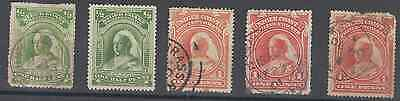 Stamps Niger Coast 5Pc Lot
