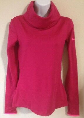 NWT! Nike Womens Pro Hyperwarm Infinity Training Top 620415-646 $65 Medium M