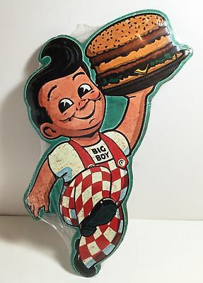 SALE! Big Boy Restaurant Vintage Style Reproduction Die-Cut metal Sign Kitchen