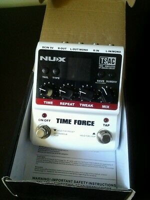 Nux NU-X Time Force  Effect Pedal Delay
