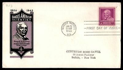 Mayfairstamps US FDC 1948 GEORGE WASHINGTON CARVER IOOR SC 953 UNSEALED