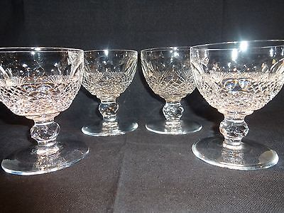 "*VINTAGE* Waterford Crystal COLLEEN (1953-Archived) 4 Liquor Cocktail 3 1/2"" 3oz"