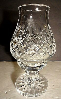 *VINTAGE* Waterford Crystal COLLEEN (1953-) Votive Tea Light Hurricane Lamp 7.25