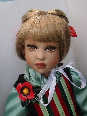"Nicole 16"" Doll Helen Kish - White Balloon International - Hang tag - COA - Box"