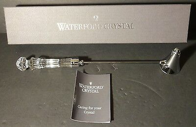 "*EXCELLENT* Waterford Crystal LISMORE (1957-) Candle Snuffer 11 1/2"" Ireland"