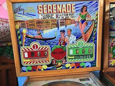 Serenade    Pinball   Machine 	1959