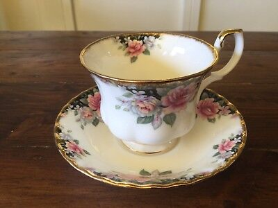 Vintage Royal Albert CONCERTO Cup and Saucer