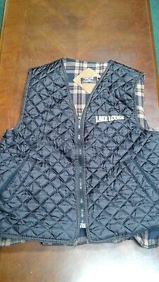 Sun Cruz Lake Louise Quilted Lined Vest Size L. Made in Canada
