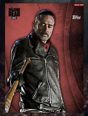 Topps The Walking Dead (TWD) Digital Card Trader - Red Negan Icon Award