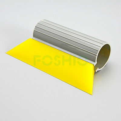 "5-1/2"" Mini Yellow Turbo Squeegee Car Vinyl Film Wrapping Application Tool Kit"