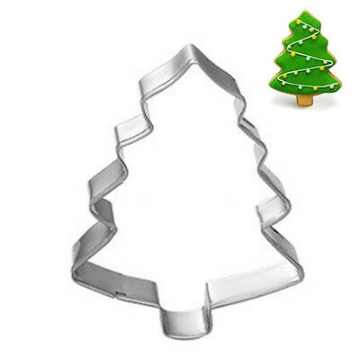 Christmas Tree Shaped Biscuit Cookie Cutter Cake Mold Jelly Pastry Baking Mould