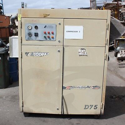 Champion Compressors ECOPAK Rotary Screw Air Compressor D-75 55kW 750kPa