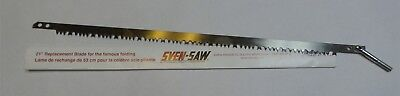 "Sven Saw 21"" Steel Replacement Folding Blade for Backpacking Saw - Blade Only"