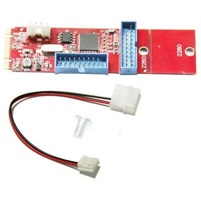 WBTUO LM-161U-V1.0 D720202 M.2 (NGFF) to 1-Port 19Pin USB3.0 Adapter Card