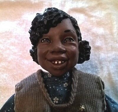 Daddy'S Long Legs 1994 Wendy African-American Doll School Girl Witch Signed Coa