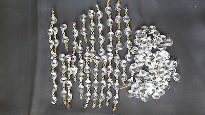 OLD CHANDELIER CRYSTALS A TOTAL OF 135 pieces #8