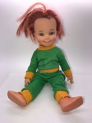 VINTAGE 1972 70s CINNAMON IDEAL CRISSY VELVET FAMILY GROW HAIR DOLL