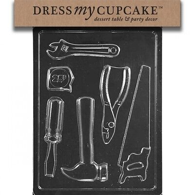 Dress My Cupcake DMCD102 Chocolate Candy Mould, Tools New. Shipping Included