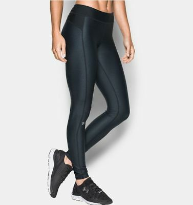 Under Armour Women's HeatGear Compression Running Training Workout Pants XS