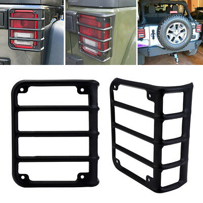 CAR Rear Guard Tail light Bracket Covers Protector for 07-16 JEEP Wrangler JK