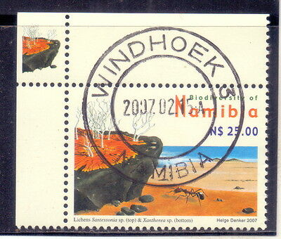 Namibia (Mi 1223Ay)  Insects - Landscapes - Lichens - Plants   2007.