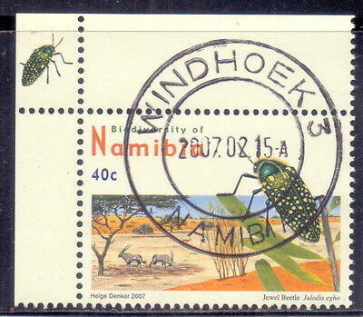 Namibia (Mi 1216Ay)  Jewel Beetle  - Insects  2007.
