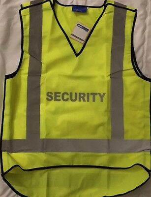 Workscene SECURITY Hi-Vis Vest Size M